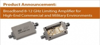 Melcom supply APIs new Broadband 8-12 GHz Limiting Amplifier