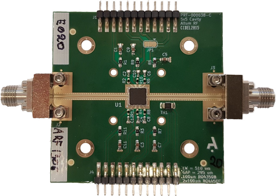 ARF1306C5 (2-18 GHz) Distributed Amplifier