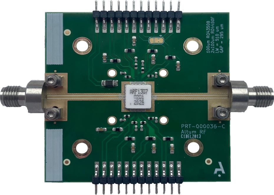 ARF1307C7 (2 -20 GHz) Distributed Power Amplifier