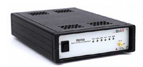 R5700 Real Time Spectrum Analyser - Frequency Range of 27 GHz