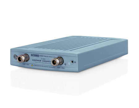 2 Port Compact VNA with higher output power and dynamic range (SC5065)