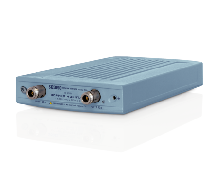 2 Port Compact VNA with higher output power and dynamic range (SC5090)